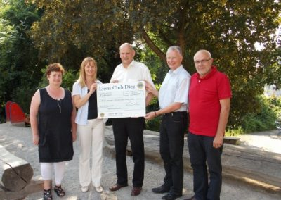 Lions Club Diez unterstützt Karl-von-Ibell Schule mit 500,- €